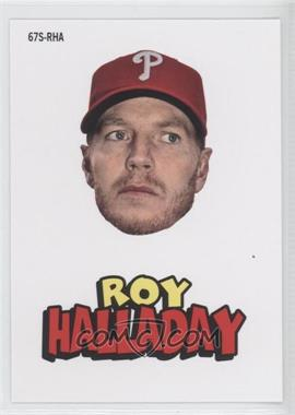 2012 Topps Archives 1967 Stickers #67S-RHA - Roy Halladay