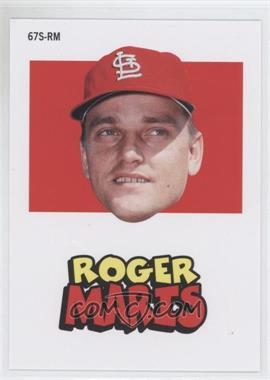 2012 Topps Archives 1967 Stickers #67S-RM - Roger Maris
