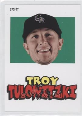 2012 Topps Archives 1967 Stickers #67S-TT - Troy Tulowitzki