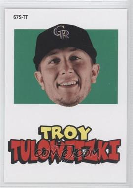 2012 Topps Archives 1967 Stickers #67S-TT - Troy Tulowitzki