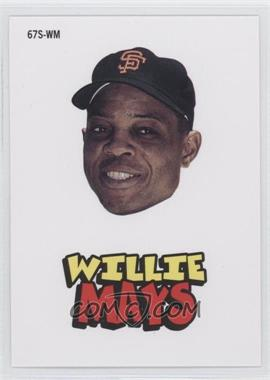 2012 Topps Archives 1967 Stickers #67S-WM - Willie Mays