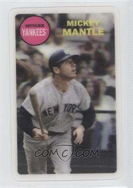2012 Topps Archives 1968 3D #MIMA - Mickey Mantle