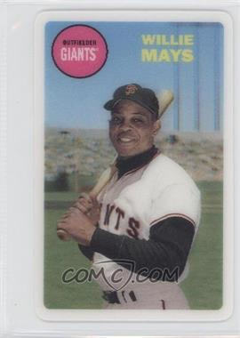 2012 Topps Archives 1968 3D #WIMA - Willie Mays