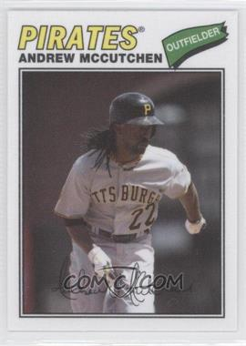 2012 Topps Archives 1977 Cloth Patches #77C-AM - Andrew McCutchen