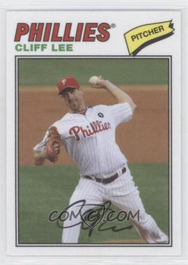 2012 Topps Archives 1977 Cloth Patches #77C-CL - Cliff Lee