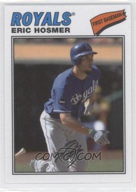 2012 Topps Archives 1977 Cloth Patches #77C-EH - Eric Hosmer