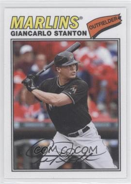 2012 Topps Archives 1977 Cloth Patches #77C-MS - Giancarlo Stanton