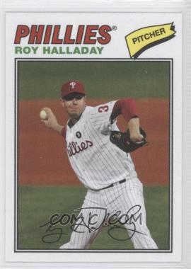 2012 Topps Archives 1977 Cloth Patches #77C-RH - Roy Halladay