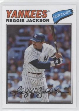 2012 Topps Archives 1977 Cloth Patches #77C-RJ - Reggie Jackson