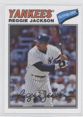 2012 Topps Archives 1977 Cloth Patches #77C-RJ - Reggie Jackson