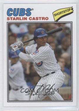 2012 Topps Archives 1977 Cloth Patches #77C-SCA - Starlin Castro