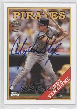 2012 Topps Archives Fan Favorites Certified Autograph [Autographed] #FFA-AVS - Andy Van Slyke