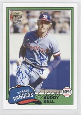 2012 Topps Archives Fan Favorites Certified Autograph [Autographed] #FFA-BBE - Buddy Bell