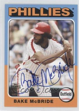2012 Topps Archives Fan Favorites Certified Autograph [Autographed] #FFA-BM - Bake McBride