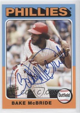 2012 Topps Archives Fan Favorites Certified Autograph [Autographed] #FFA-BM - Bake McBride