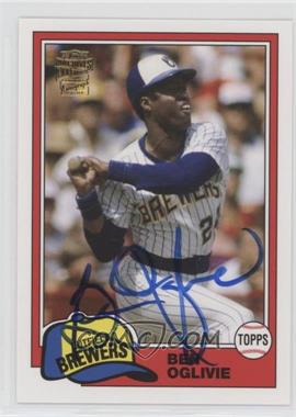 2012 Topps Archives Fan Favorites Certified Autograph [Autographed] #FFA-BOG - Ben Oglivie