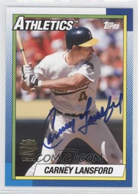 2012 Topps Archives Fan Favorites Certified Autograph [Autographed] #FFA-CL - Carney Lansford