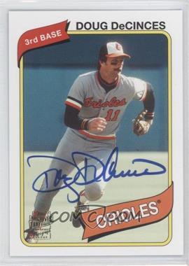 2012 Topps Archives Fan Favorites Certified Autograph [Autographed] #FFA-DD - Doug DeCinces