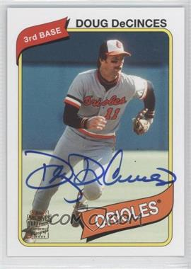 2012 Topps Archives Fan Favorites Certified Autograph [Autographed] #FFA-DD - Doug DeCinces