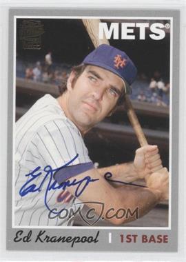 2012 Topps Archives Fan Favorites Certified Autograph [Autographed] #FFA-EK - Ed Kranepool