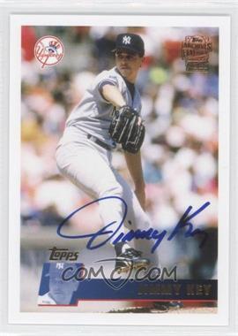 2012 Topps Archives Fan Favorites Certified Autograph [Autographed] #FFA-JKE - Jimmy Key