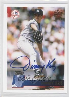 2012 Topps Archives Fan Favorites Certified Autograph [Autographed] #FFA-JKF - Jimmy Key