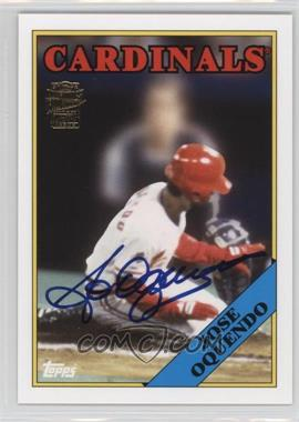 2012 Topps Archives Fan Favorites Certified Autograph [Autographed] #FFA-JOQ - Jose Oquendo