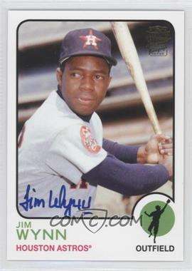 2012 Topps Archives Fan Favorites Certified Autograph [Autographed] #FFA-JW - Jimmy Wynn