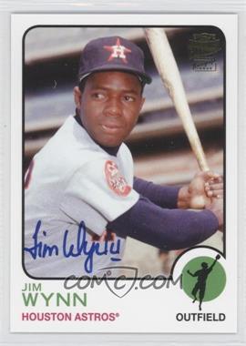 2012 Topps Archives Fan Favorites Certified Autograph [Autographed] #FFA-JW - Jimmy Wynn