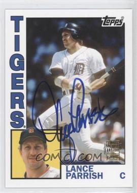 2012 Topps Archives Fan Favorites Certified Autograph [Autographed] #FFA-LP - Lance Parrish