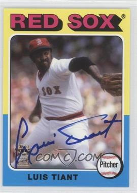 2012 Topps Archives Fan Favorites Certified Autograph [Autographed] #FFA-LT - Luis Tiant