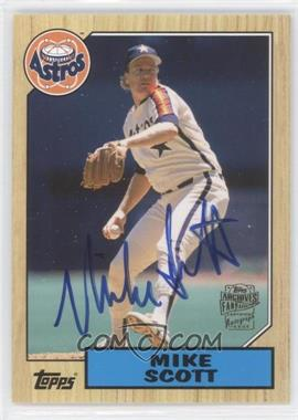 2012 Topps Archives Fan Favorites Certified Autograph [Autographed] #FFA-MSC - Mike Scott