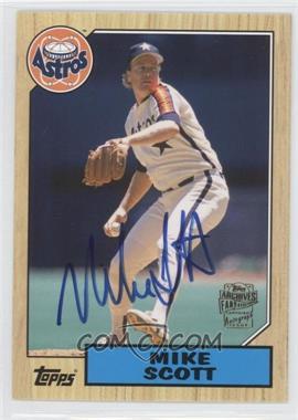 2012 Topps Archives Fan Favorites Certified Autograph [Autographed] #FFA-MSC - Mike Scott