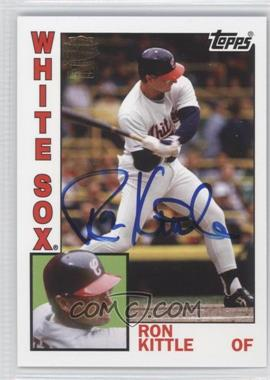 2012 Topps Archives Fan Favorites Certified Autograph [Autographed] #FFA-RK - Ron Kittle