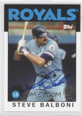 2012 Topps Archives Fan Favorites Certified Autograph [Autographed] #FFA-SB - Steve Balboni