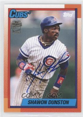 2012 Topps Archives Fan Favorites Certified Autograph [Autographed] #FFA-SD - Shawon Dunston