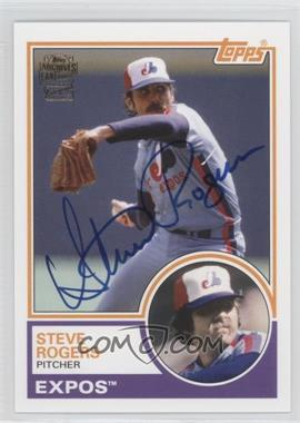 2012 Topps Archives Fan Favorites Certified Autograph [Autographed] #FFA-SR - Steve Rogers