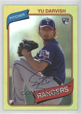 2012 Topps Archives Gold #119 - Yu Darvish