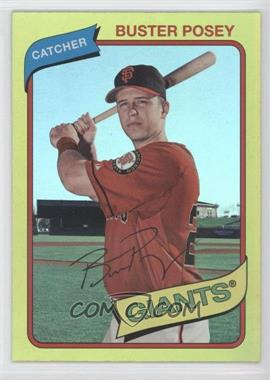 2012 Topps Archives Gold #140 - Buster Posey
