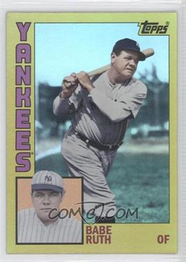 2012 Topps Archives Gold #189 - Babe Ruth