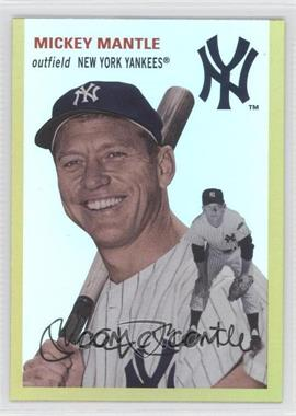 2012 Topps Archives Gold #22 - Mickey Mantle