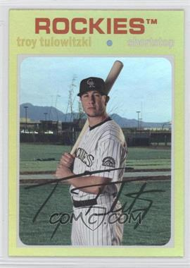 2012 Topps Archives Gold #80 - Troy Tulowitzki