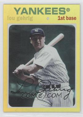 2012 Topps Archives Gold #89 - Lou Gehrig