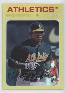 2012 Topps Archives Gold #95 - Yoenis Cespedes