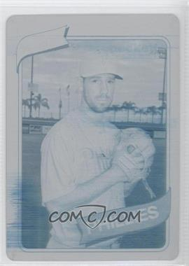 2012 Topps Archives Printing Plate Cyan #108 - Cliff Lee /1