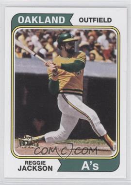 2012 Topps Archives Reprint Inserts #130 - Reggie Jackson