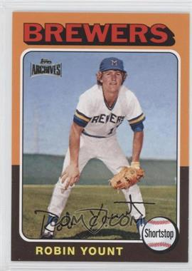 2012 Topps Archives Reprint Inserts #223 - Robin Yount