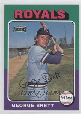 2012 Topps Archives Reprint Inserts #228 - George Brett