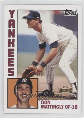 2012 Topps Archives Reprint Inserts #8 - Don Mattingly