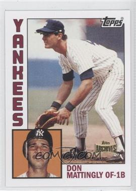 2012 Topps Archives Reprint Inserts #8 - Doug Mathis